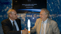 Signature of the Galileo In-Orbit Validation Launch Services Con