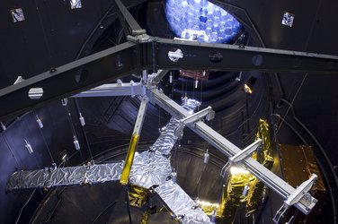SMOS in the Large Space Simulator