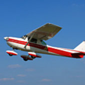 Cessna 172 with MetaSensing's radar