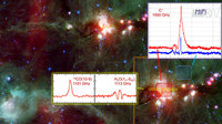Ionised carbon, carbon monoxide, and water in star-forming regio