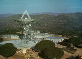 NASA's DSN station at Cebreros - later taken over by ESA