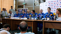 Mars500 press conference following 105-day study