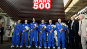 Mars500 crew following 105-day study