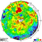 The new temperature map of Venus' southern hemisphere