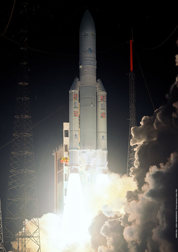 Ariane 5 flight V190 liftoff