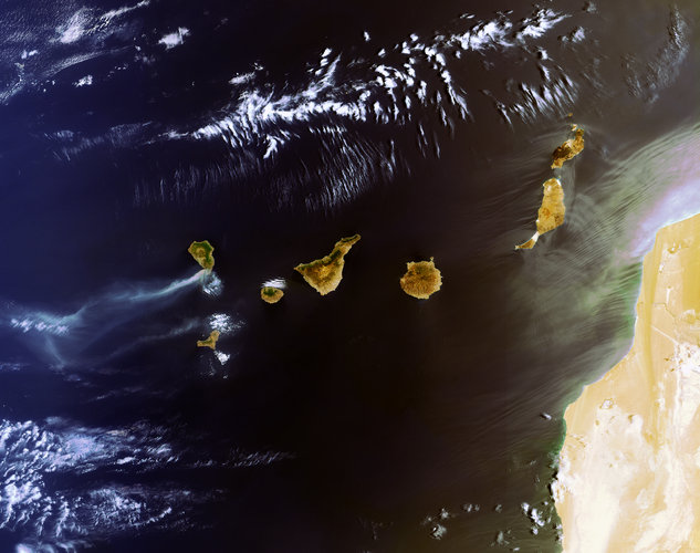 Canary Island fires