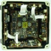 Inside view of MEMS rate sensor