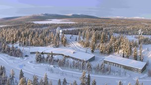 Kiruna station in Sweden is part of ESA's Estrack ground station network