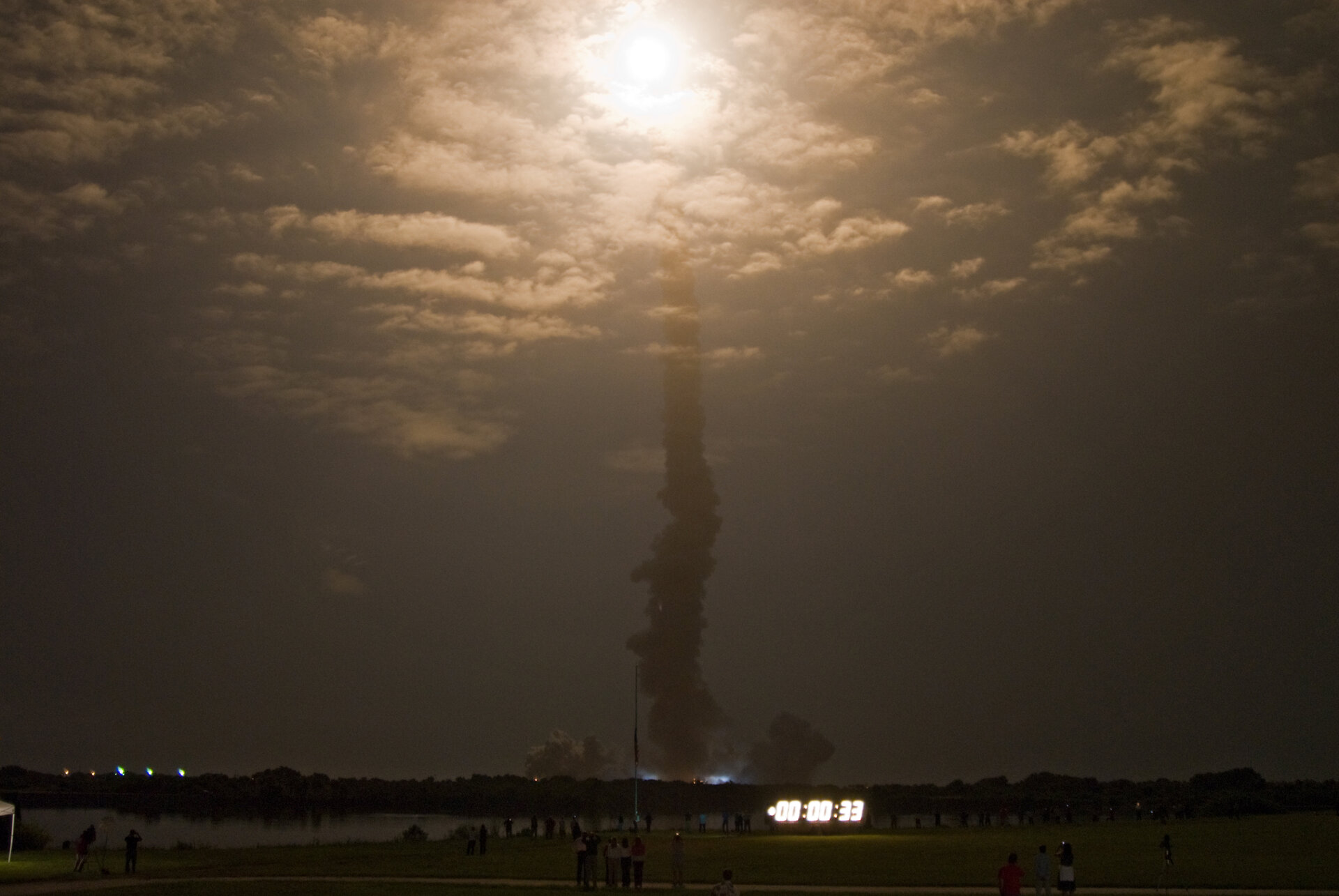 Launch of Space Shuttle Discovery on the STS-128 mission