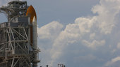 NASA's Space Shuttle Discovery on Launch Pad 39A