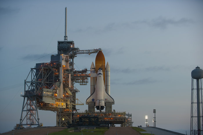 Image result for space shuttle on pad