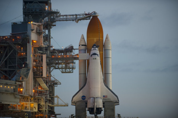 Countdown Resumes For STS-128 Launch / Alissé Mission