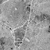 Thermal image of Athens