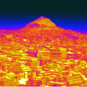 Thermal image of Lycabettus