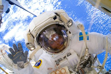 Christer Fuglesang spacewalk