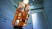CryoSat in the cleanroom