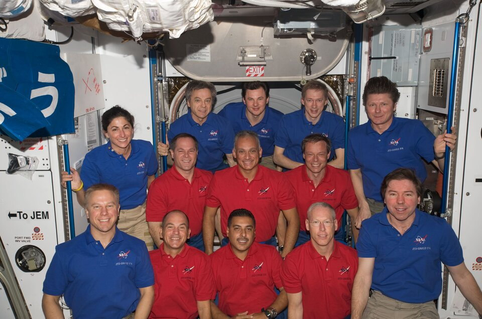Thirteen in the ISS