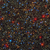 Hubble resolves myriad stars in dense star cluster