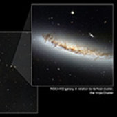 NGC 4402 within its home cluster