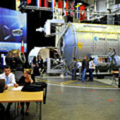 CEMS students at work at Erasmus Centre, ESTEC