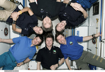 Crew photo ISS Expedition 20