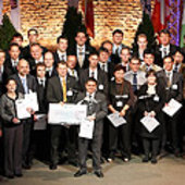 ESNC 2009 winners,regional organisers and special prize partners