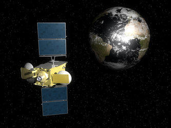 Hylas-1 in orbit
