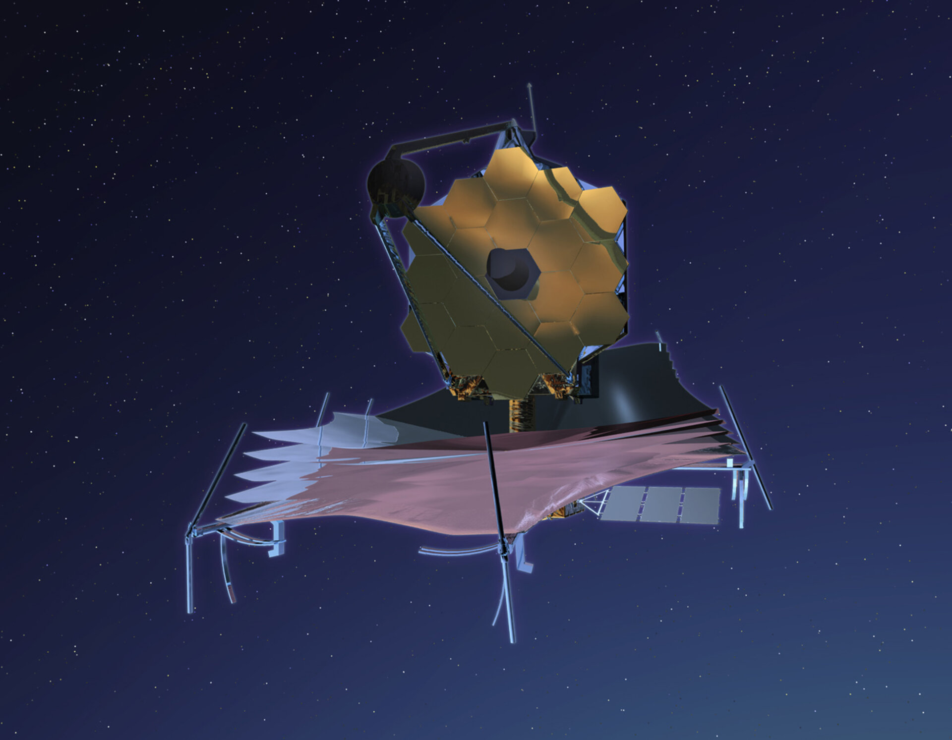 JWST in orbit