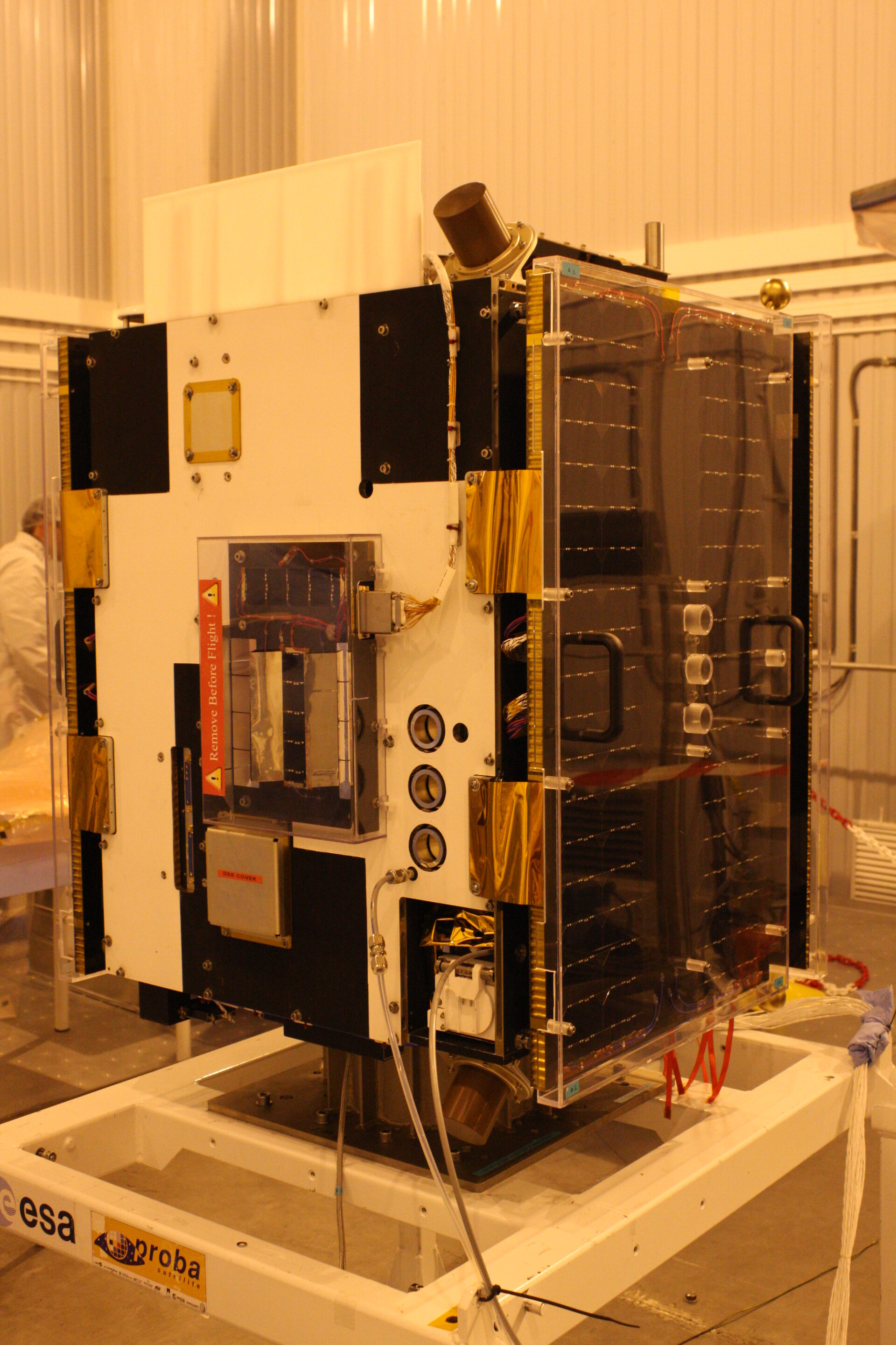Proba-2 ready for Joint Operations with Rockot Launcher authorities