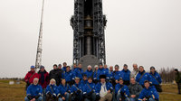 SMOS and Proba-2 launch campaign team