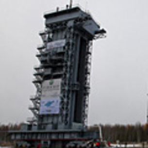 SMOS Proba-2 launch tower