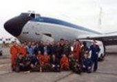 1st ESA\ Parabolic Flight Campagne Group in 1984