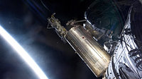 Canadarm2 unberths the Japanese H-II Transfer Vehicle