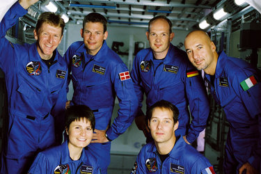 ESA astronauts new recruits
