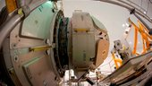 Europe's Cupola is mated to Node-3 and ready for NASA launch
