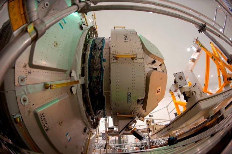 ESA's Cupola mated to Node-3