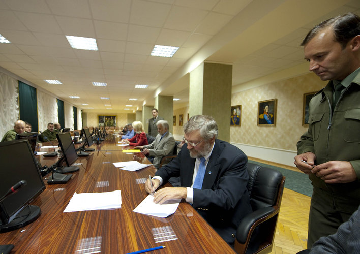 Russian State Commission Review for SMOS and Proba-2