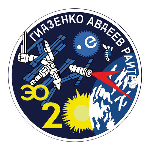 Soyuz TM-22 flight patch, 1995