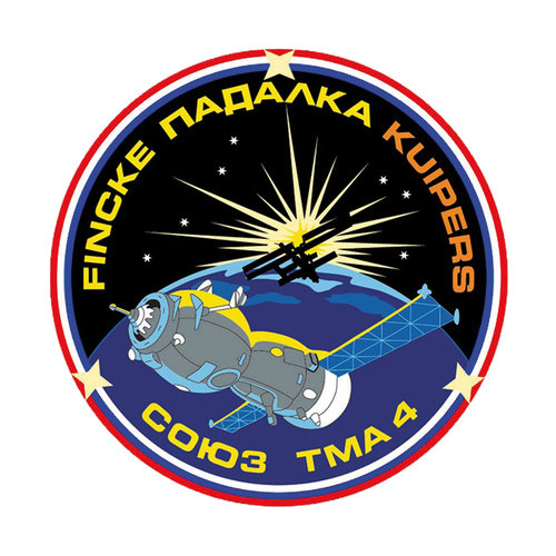 Soyuz TMA-4 flight patch, 2004