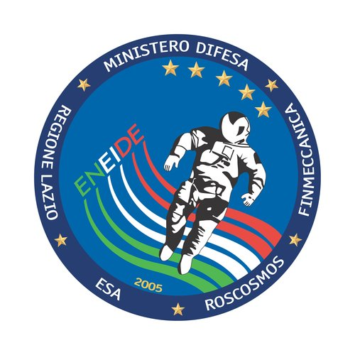 Soyuz TMA-6 Eneide mission patch, 2005