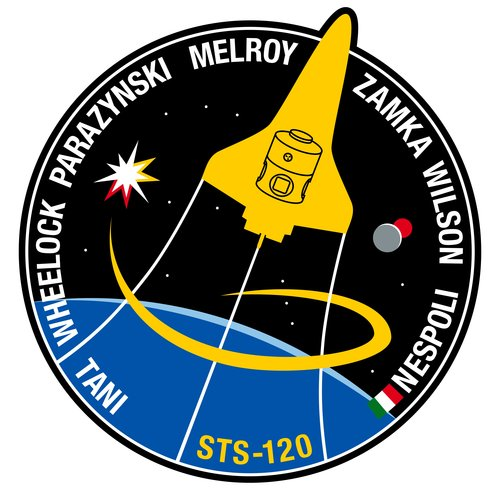 STS-120 patch, 2007