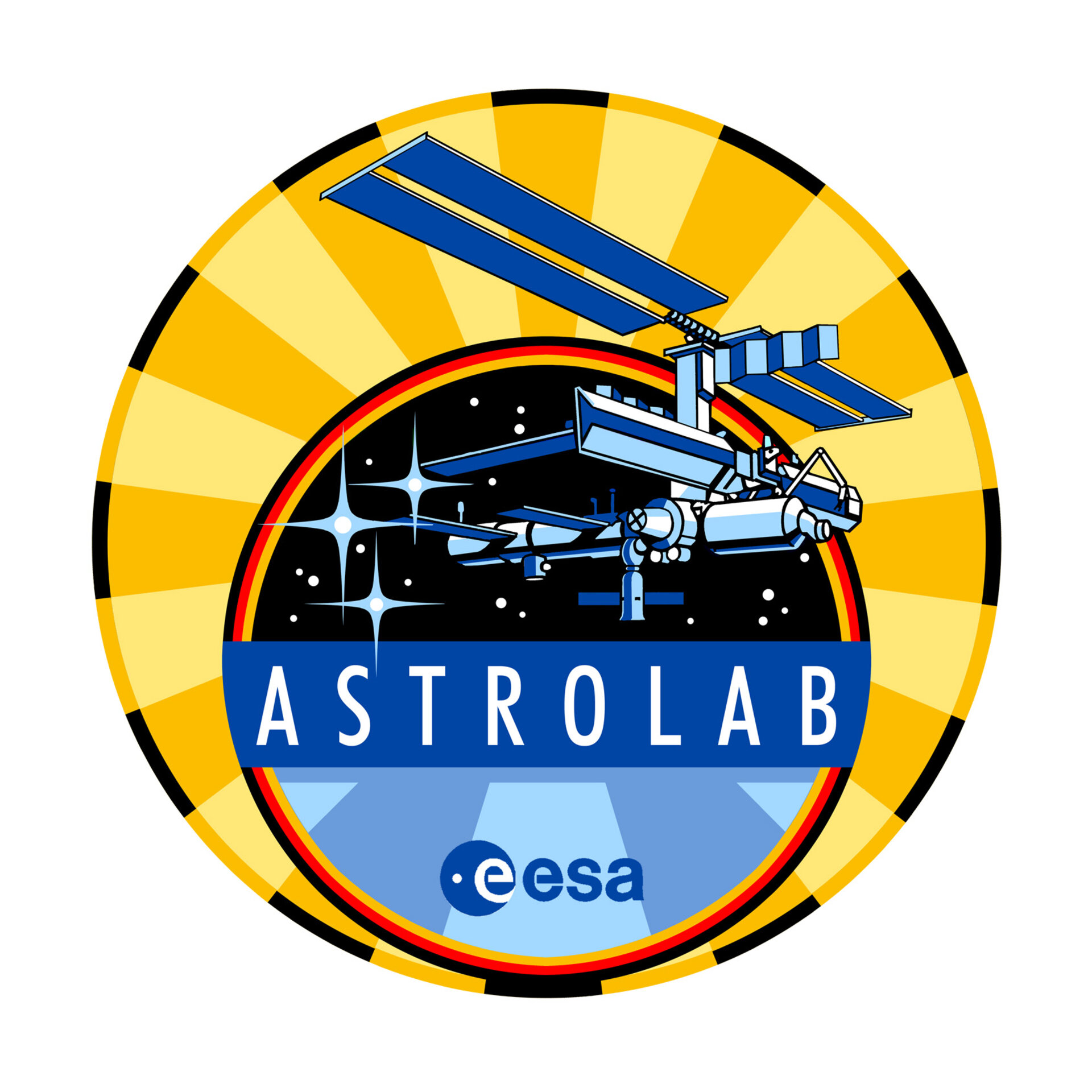 STS-121 Astrolab mission patch, 2006