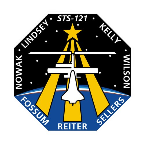 STS-121 patch, 2006