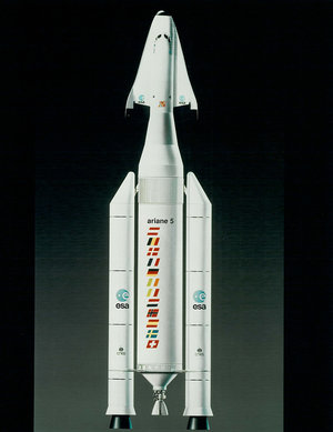 Ariane 5 in Hermes configuration, 1991