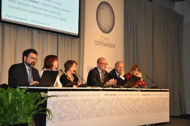 ESA side event at COP15
