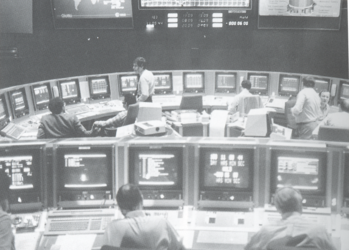 ESOC Main Control Room in the 1980s
