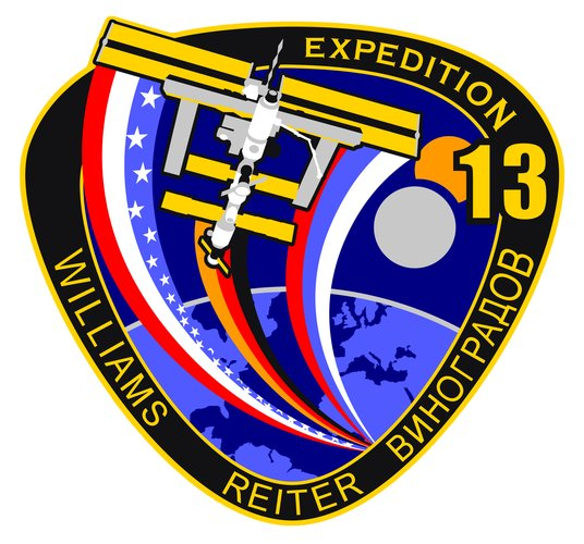 ISS Expedition 13 patch, 2006