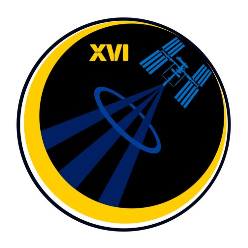 ISS Expedition 16 patch, 2008