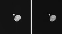 Raw and processed images of Phobos and Deimos