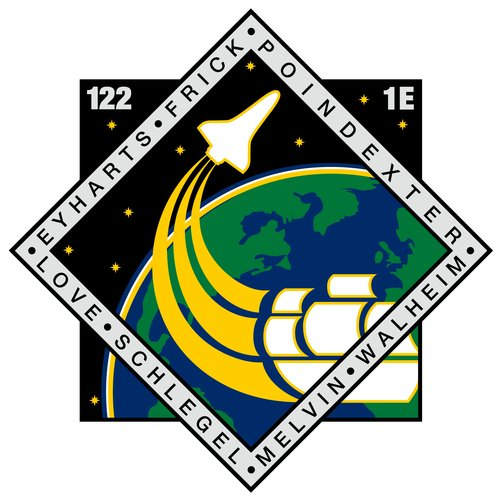 STS-122 patch, 2008